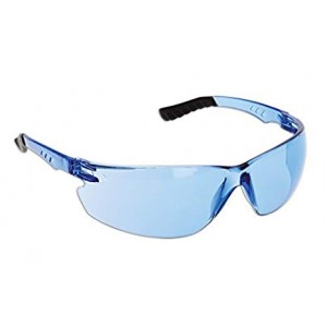 Dynamic Safety Techno Safety Spectacles with Blue Tint Lens / 10 Per Box