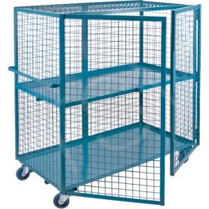 "Kleton Security Cart, 63"" x 32"" x 62.5"", 2400 lbs"
