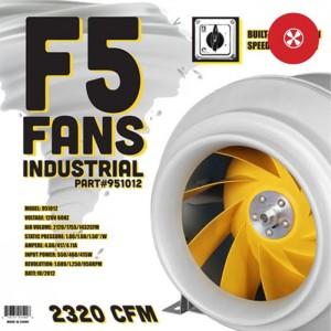 12'' F5 Industrial In-Line Fan