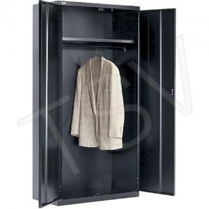 "Cabinet Wardrobe Storabe 72""H X 36""W X 18""D Black"