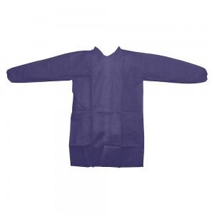 RONCO Premium Polypropylene Lab Coat, No Pockets, With Snap, 25 Per Case