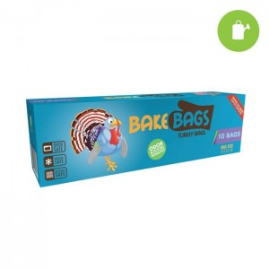 "Bake Bags - 19"" x 23.5"", 10 bag box"