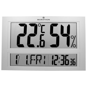 Jumbo Digital Clock, Multi-Lingual