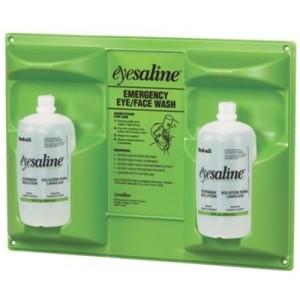 Saline Eyewash Double Wall Station Bottle Capacity: 32 oz.