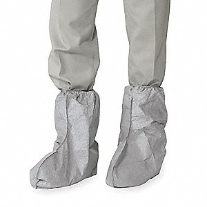 Tyvek 400 Boot Covers, One-Size, Clear, 100 / Covers
