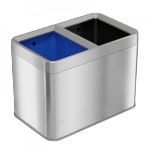 5 Gallon Stainless Steel Recycle Bin / Trash Can