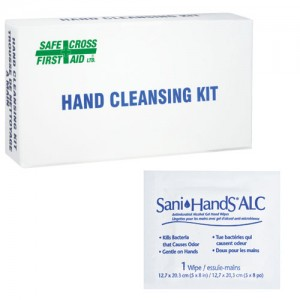 SafeCross Hand Cleansing Moist Towelettes, 12 Per Box