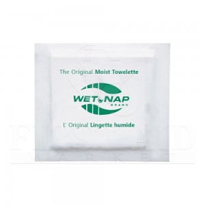Hand Cleansing Moist Towelettes, Case of 1000