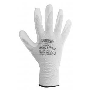 Flexsor 78-505 Polyurethane Coated Nylon Industrial Cleanroom General Purpose Glove, Dozen