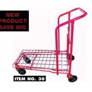 "Garden Center Cart, 35"" x 20"" 440 Lbs with Caster, Red"