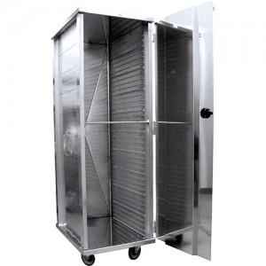 Enclosed Aluminum Transport Racks, 40 Slides