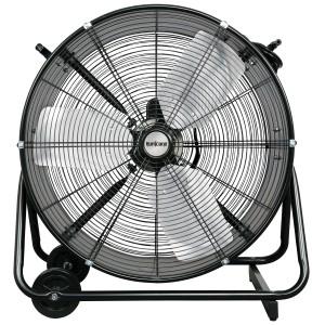 Hurricane® Pro Heavy Duty Adjustable Tilt Drum Fan 24 in