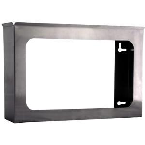 "304 Stainless Steel Glove Dispenser, Triple 10.36"" X 15.75"" I.D. X 3"" I.D."
