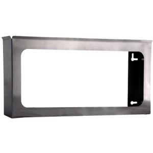 """304 Stainless Steel Glove Dispenser, Quad 10.36"""" X 21"""" I.D. X 3"""" I.D."""