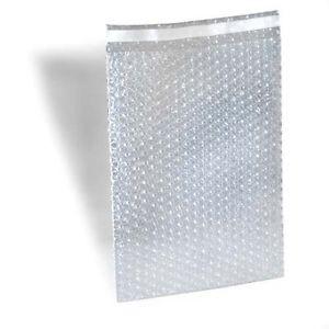 """E-Z Seal Bubble Pouches 7"""" x 8.5"""", 550 bags"""