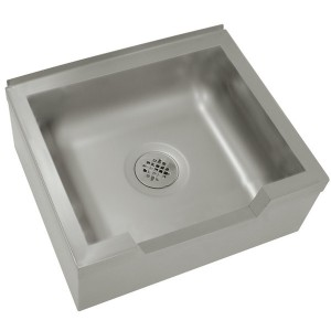 """Service Mop Sinks, 25"""" x 21"""", 304 Stainless"""