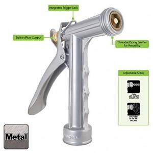 Heavy-Duty Metal Nozzle : Watering Nozzles : Garden & Outdoor