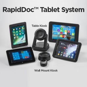 RapidDoc™ Tablet Kiosk Family
