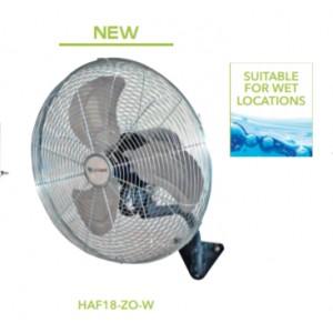 "HAF 18"" Horizontal Air Flow Fans, Wall Mounted"