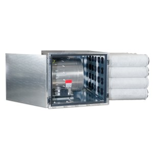 Can-Filter® M5 Can Industrial Unit Powered by Max-Fan® 20 in & Can-Lite™ 9000