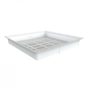 4'x4' Flood Tray - White (Heavy Duty)