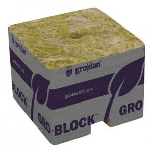Grodan PRO Starter Mini Blocks 1.5 in Unwrapped  50perCs