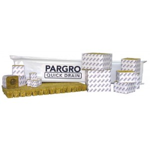 Grodan Pargro QD Jumbo Block 6 in x 6 in x 4 in wper Hole