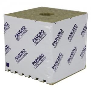 Grodan Pargro QD Biggie Block 6 in x 6 in x 6in wper Hole per48 Pack