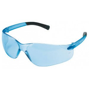 BearKat Crews Safety Glasses, Blue, Anti-Scratch, UV Rated
