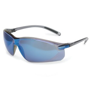 A700 Safety Eyewear, Blue / Mirror, Anti Scratch