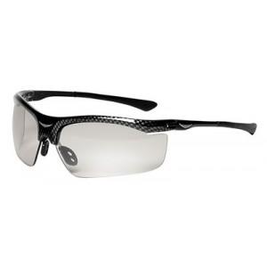 3M™ Smart Lens™ Safety Glasses Photochromatic Lens, Black Frame