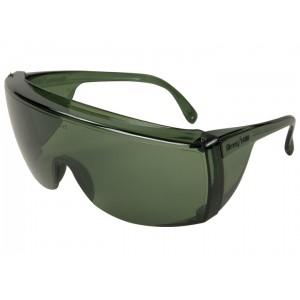 Veratti® Tuff-Spec® , Eyewear 1400 Series Green Frame, Green Lens, Uncoated