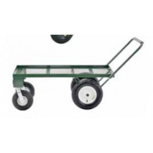 "4-Wheel Steel Flat Wagon 24""W X 48""L X 17""H 750 LBS. CAPACITY"