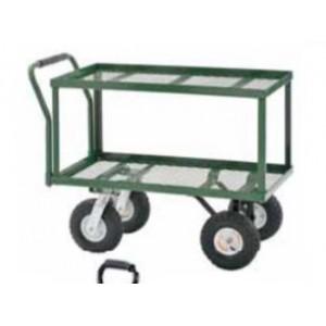 """2-Tier Steel Wagon 20""""W X 38""""L X 36""""H 550 LBS. CAPACITY"""