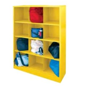 """Cubby Storage Organizer 46""""W X 18""""D X 66""""H 12 SECTIONS 155 LBS. CAPACITY"""