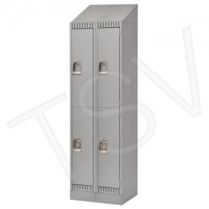 Ready to Assemble Steel Lockers, 2 Tier, 2 Bank