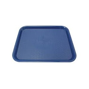 TRAY plastic blue 10x14