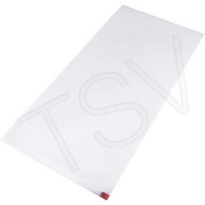 Clean Room Tacky Mat  Width: 1-1/2' Length: 3' Thickness: 1.4 mics Colour: White