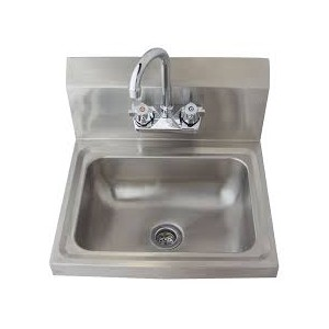 HAND SINK FABRICATED W/DRAIN&FAUCET