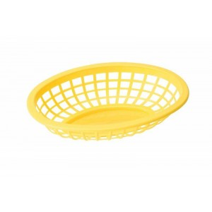 BASKET yellow oval side order
