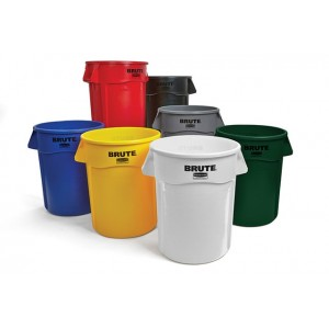 44 Gallon, Brute Container, Pick A Color Polyethylene