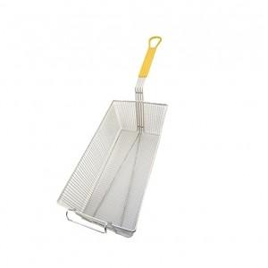 FRYER BASKET 16-3/4x8-3/4x6 yellow