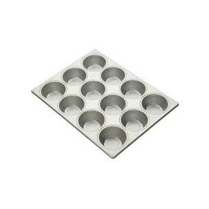 """3-11/16"""" PECAN ROLL PAN 12 CUP  3X4"""