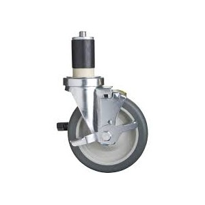 "5"" SWIVEL CASTER FOR BAKERY RACK"