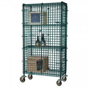 SECURITY CAGE 24 X36 GREEN