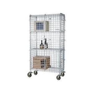 SECURITY CAGE 18X48X63 FMSEC18483