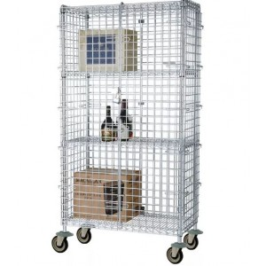 18X60 SECURITY CAGE CHRM FMSEC1860