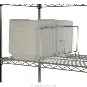 18 CHROME PLATED SHELF DIVIDERS