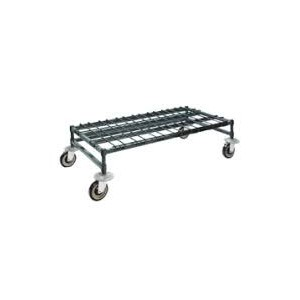 """18""""X60"""" MOBILE DUNNAGE RACK GREEN"""