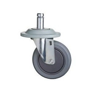 "TPR 5"" SWIVEL CASTER NO BRAKE  SET"